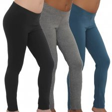 Ladies leggings in organic cotton