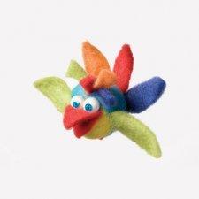 Kit Mobilaria: uccellino Arcobaleno in lana naturale fai-da-te