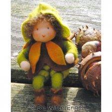 Kit Bambini dei Fiori: Castagno in lana naturale fai-da-te