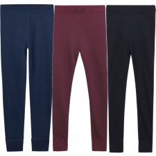 Laso Leggings for girls in Wool and Bamboo