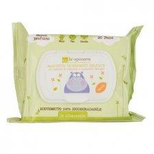 Le Albicoccole - Salviette detergenti delicate e biodegradabili