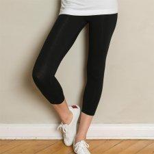 Legging donna corto 7/8 in cotone biologico