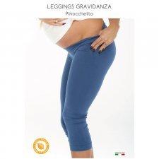 Leggings pinocchietto in modal per gravidanza