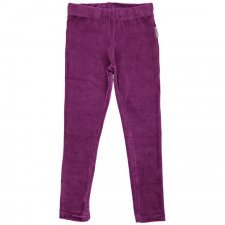 Leggings Chenille Purple in organic cotton