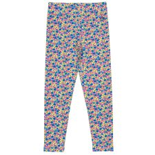 Leggings per bambina Bee ditsy in cotone biologico