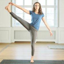 Leggings Yoga in canapa e cotone biologico