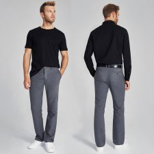Unisex Chino trousers in hemp and organic cotton