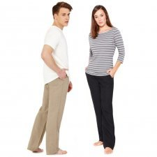 Leisure trousers, 100% Hemp