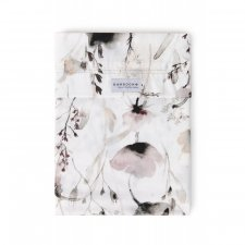 Lenzuola Lettino in Bamboo organico Stampa Papavero - set 2 pz