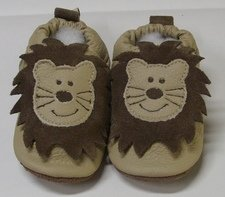 Lion classic boys soft sole leather baby shoes
