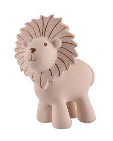 Lion Tikiri in natural rubber with rattle