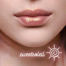 Lip balm volumizzante dorato Sweetsoleil Vegan