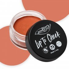 Lip to cheek - carrot 01 Blush+Rossetto puroBio Vegan