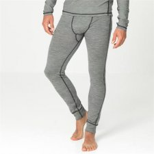 Long johns men in organic wool