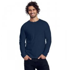 Long sleeve man shirt in organic cotton