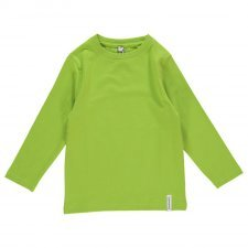 Long sleeve shirt Green in organic cotton