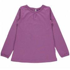 Long sleeve shirt Light Purple in organic cotton