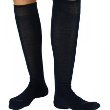 Long Sock 100% Bamboo Navy
