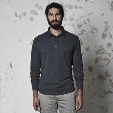 Polo shirt Harvey in organic cotton and hemp