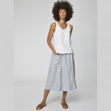 Luis Stripe Midi Skirt