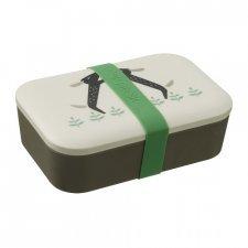 Contenitore Snack Porta Pranzo in bamboo Cagnolini Lunch Box