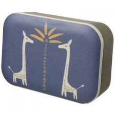 Lunch box in bamboo Giraffe