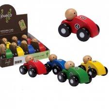 Macchinine per bambini piccoli in legno ecologico