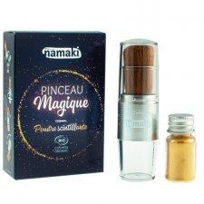 Magic Brush and organic glittering powder Gold