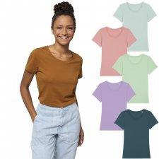 T-shirt donna Expresser girocollo in cotone biologico