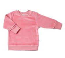 Maglia Nicky per bambini in ciniglia di cotone biologico