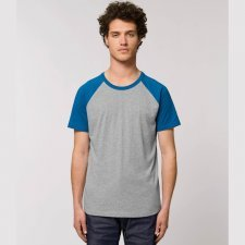 T-shirt Baseball unisex Catcher in cotone biologico