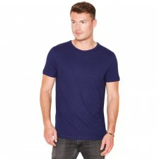 T-shirts uomo Blu Scuro manica corta in canapa