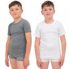 Maglietta Bambini e Ragazzi puro Cotone Termico invernale