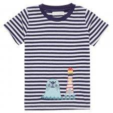Maglietta Foca per bambino in cotone biologico