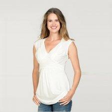 Maglietta per l'allattamento Crochet in Tencel™