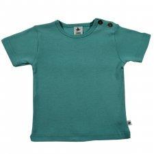 Maglietta T-shirt 100% cotone biologico Turchese