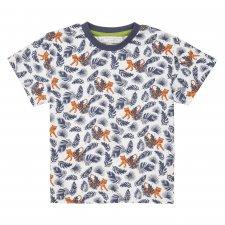 Maglietta Tigre per bambino in cotone biologico