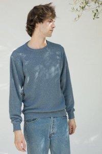 Maglioncino Gino da Uomo in cotone da jeans rigenerato
