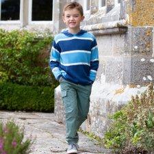 Maglioncino Parkstone per bambini e ragazzi con cappuccio in cotone biologico