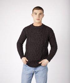 Maglione Aran Fearnog da uomo in pura lana