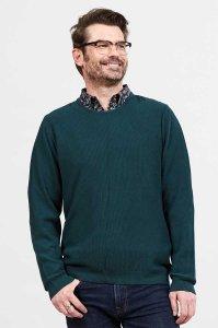 Maglione da uomo girocollo in Cotone Equosolidale