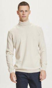 Maglione FORREST collo alto da uomo in pura lana biologica