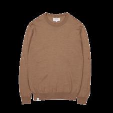 Maglione girocollo I.F.K. da uomo in pura lana merino