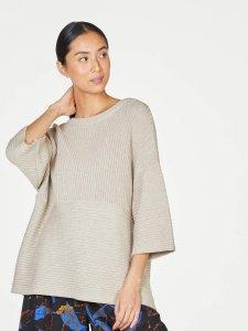 Maglione Runa da donna in misto lana e cotone biologico