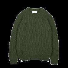 Maglione Viaborg da uomo raglan costine in pura lana merinos