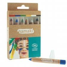 Make up organic Pencils - 6 pcs