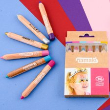Make up organic Pencils Enchanted worlds - 6 pcs