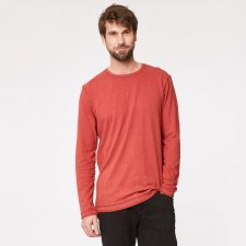 Man long sleeve hemp shirt