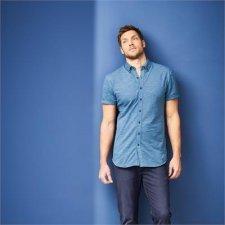 Man polo shirt in organic cotton