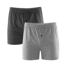 Classic man boxer in organic cotton - 2 pc